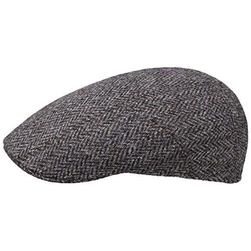 Michi Harris Tweed Flatcap Schirmmütze Schiebermütze Sportmütze Wollcap...