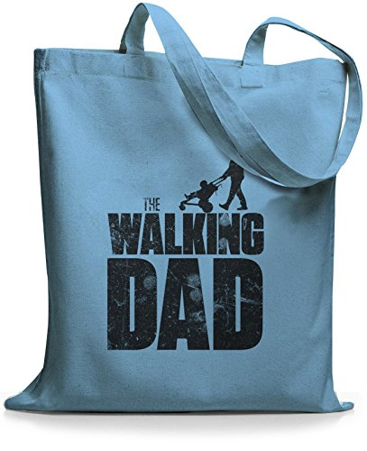 StyloBags Jutebeutel / Tasche The Walking dad Sky