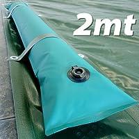 Tubolare perimetrale da 2 m per fissaggio copertura piscina