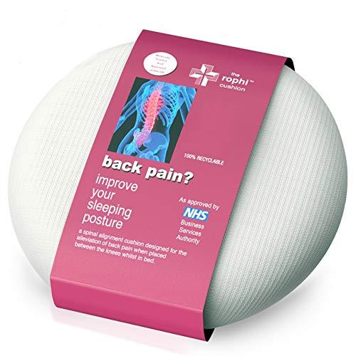 Cojin para rodillas para aliviar ciatica y el dolor lumbar | Almohada ciatica, Almohada dolor cadera...