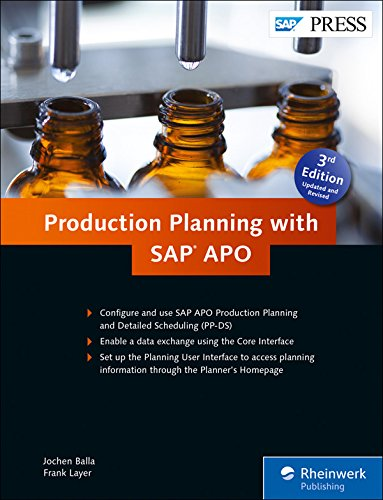 Production Planning with SAP APO (SAP PRESS: englisch) (Produktionsplanung Software)