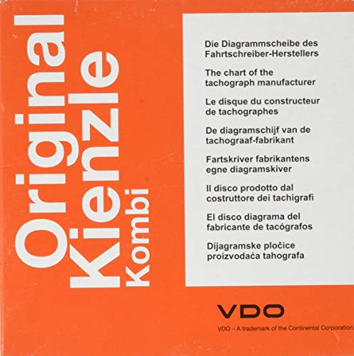 CONTINENTAL 1900.57130000 140-24 EC4K 100 Medien Diagramm für Fahrtenschreiber