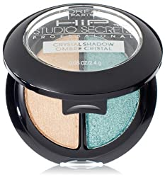 LOrea Paris HiP Studio Secrets Professional Crystal Eye Shadow Duos, Mystical, 0.08 Ounces