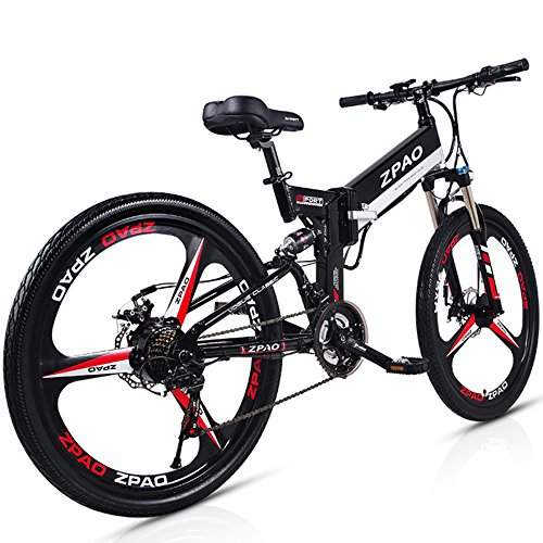 5142EYEjLJL. SS500  - GTYW 26 Inch Electric Folding Bicycle Mountain Bike Adult Bike Electric Lithium Adult Folding Electric Mini Motorcycle 90km Battery Life