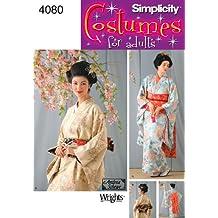 Simplicity 4080 - Patrones de costura para disfraces de mujer