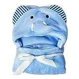 UxradG Baby-Badetuch mit Kapuze, Fleece-Decke, für Baby, Mädchen und Jungen (0–24Monate, 2, Free Size