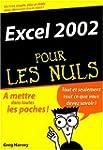 Excel 2002 pour les nuls