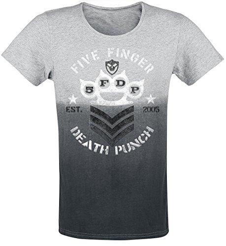 five-finger-death-punch-brass-knuckles-chevron-t-shirt-schwarz-graumeliert-m