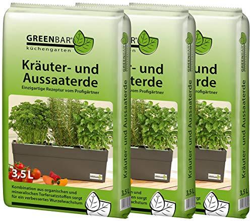 Greenbar Kräutererde, Erdfarben