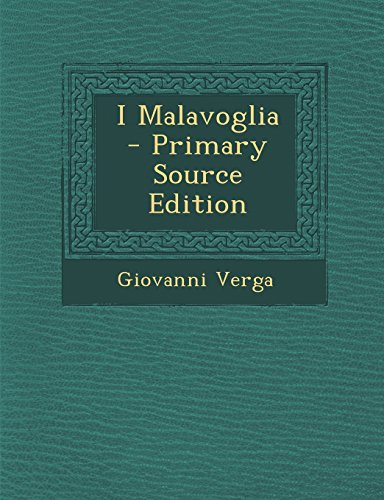 I Malavoglia - Primary Source Edition di Giovanni Verga