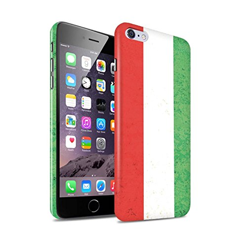 STUFF4 Glanz Snap-On Hülle / Case für Apple iPhone X/10 / Griechenland/Griechisch Muster / Flagge Kollektion Ungarn/Ungarisch