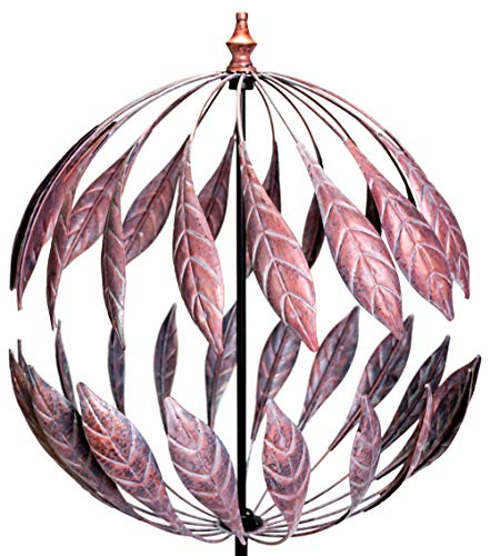 Primrose Windrad / Windspiel Odell mit Bronze-Optik, Garten 264cm | Garten > Dekoration > Windräder | Primrose