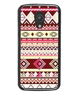 PrintVisa Designer Back Case Cover for Motorola Moto G2 :: Motorola Moto G (2nd Gen) (Jaipur Rajasthan Tribal Azitec Mobiles Indian Traditional Wooden)