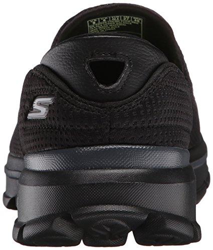 Skechers Go Walk 3-Unfold Femmes Synthétique Baskets Black