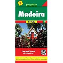 Carte routière : Madeira