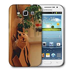 Snoogg Small Dog In A Bag Printed Protective Phone Back Case Cover For Samsung Galaxy Samsung Galaxy Win I8550 / S IIIIII