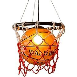 Nórdico estilo de Lámparas de techo , lámpara de techo de restaurante, diseño en forma de baloncesto de la pantalla, E27 Especificaciones Lámparas, gimnasia Deportes Theme Art Decorative Basketball Lights