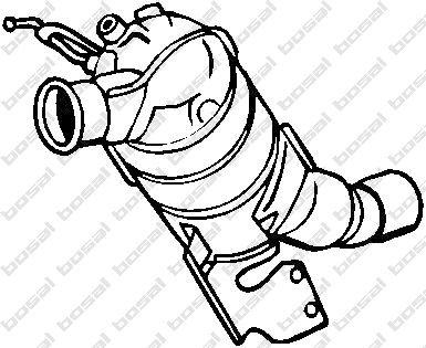 BOSAL 095-206 Montageteile