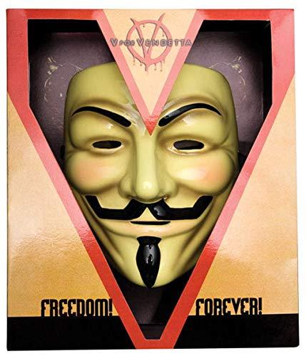Deluxe V For Vendetta Maske - Guy Fawkes Kostüm