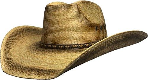 64a9ab36565 Bull skull hats stu26833 Palm Leaf Cowboy Hat Seconds 401- Price in India