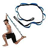 TAKSON Stretch-Band zur Verbesserung der Flexibilität, Yoga-Gurt für Übungen und Physiotherapie, für Reha-Stretching Out, Pilates, Tanz, Gymnastik