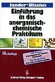 Jander/Blasius. Einführung in das anorganisch-chemische Praktikum (einschl. der quantitativen Analyse) bei Amazon kaufen