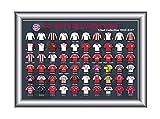 FC Bayern München - Pinkollektion Alle Trikots seit 1900