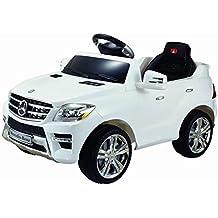 6V, 1000mA Mercedes-Benz ML350 Coche SUV Eléctrico para niños auto Infantil Juguete (Blanco)