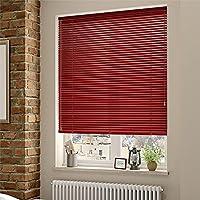 Veneciana aluminio 25mm (desde 36cm hasta 240cm de ancho). Color rojo. Medida