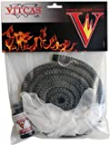 Black Stove Fire Rope Replacement Kit 8mm