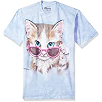 The Mountain You'Ve Cat To Be Kitten Adult T-Shirt, Blue, XL
