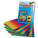 Folia Regenbogen Transparentpapier 100g