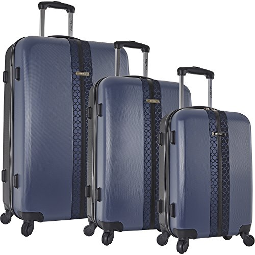 Nine West  Time2fly 3 Piece Hardside Luggage Set,  Unisex-Erwachsene Gepäck-Set, navy (Blau) - 3825P02