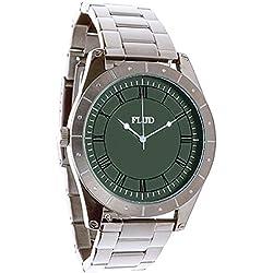 Flüd Big Ben linked silver Watch Uhr Montre Orologio BBN053 Armbanduhr Flud