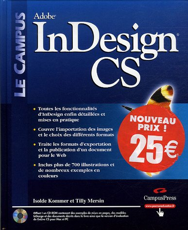 InDesign CS (1Cédérom)