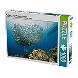 Palla di pesce • Playa Piskado • Curaçao 1000 pezzi Puzzle orizzontale