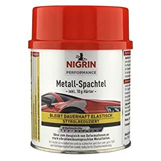 Nigrin 72116 Performance Metall-Spachtel 500 gm