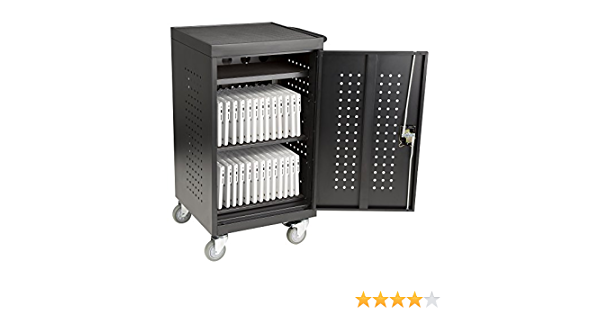 Fat Catalog 30-Bay Assembled Laptop//Tablet Charging Cart w//Double Pin Lock /& Electric Compatible w//Chromebooks ALT-NOR1008-SO Tablets /& Laptop Computers Black iPad Assembled