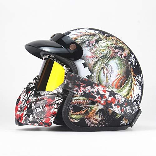 BLLJQ Caschi Integrali MTB Casco with Schnellverschluss Breathable for Sports & Outdoors,B,S