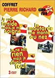 Coffret Pierre Richard 3 DVD : Je suis timide mais je me soigne / La moutarde me...