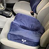 GrinHealth Luxe SitPlus Comfort Memory Foam Seat Cushion for Home/Office Chair, Car Seat