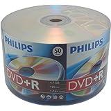 50 Philips 16X DVD+R 4.7GB (Philips Logo On Top)