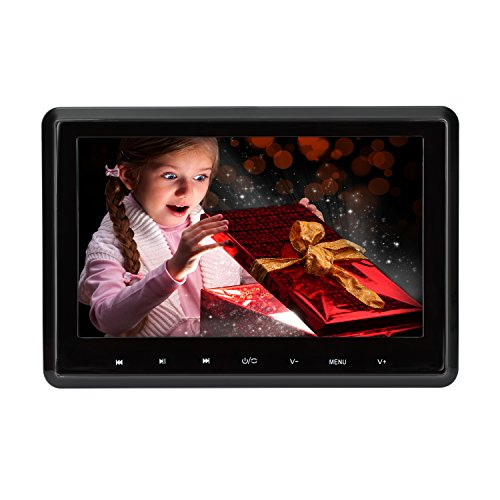 yer 10,1 Zoll 1080 P HD Kopfstütze DVD-Player Monitor Auto Rear Seat Entertainment System für Lange Auto Reise Unterstützung DVD VCD CD SD USB FM HDMI (CLZ101HD) ()