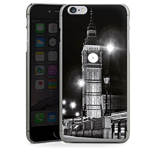 Apple iPhone X Silikon Hülle Case Schutzhülle Big Ben London England Hard Case anthrazit-klar