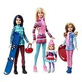 Poupée Barbie Pink Passeport - Barbie & ses soeurs à la montagne