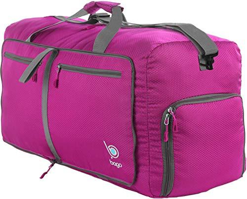 Bago Weekend / Overnight Duffle Bag, Pink
