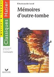 Mémoires d'outre-tombe, l'autobiographie