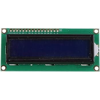 MagiDeal LCD Display Monitor Modulo 1602 5v 16 x 2 Cratteri per Arduino
