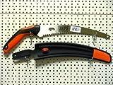 Astsäge 300mm gebogen , mit Gürteletui , Zugsäge , Handsäge , von Wilpu