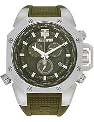 TECHNO Sport Hombre Chrono Reloj–Aviation Military